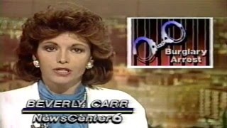 WDSU TV6 New Orleans NewsCenter6 News 11-21-1986 partial