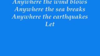 Anywhere The Wind Blows - Lauren Christy