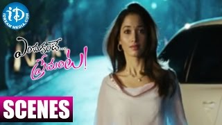 Endukante Premanta Movie Scenes  New Twist In Ram39;s Love Story  Tamannaah  Karunakaran