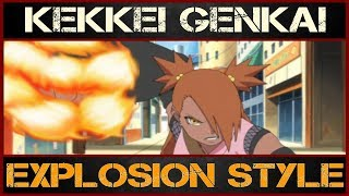 Full power of Chocho Akimichi | THE EXPLOSION STYLE USER !?