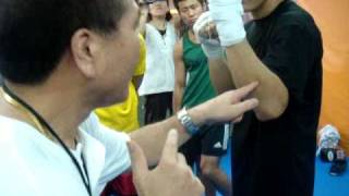 secret technique!! boxing world champ,kuniaki shibata seminar in kakukuri