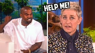 Ellen FREAKS OUT On Show After Kanye West Does This...