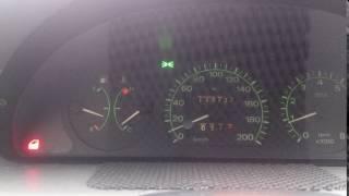 Индикация  открытой двери Fiat punto S