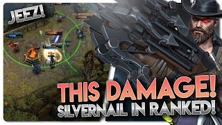 SILVERNAIL DAMAGE OP!! Vainglory 5v5 [Ranked] Gameplay - Silvernail |WP| Bottom Lane Gameplay