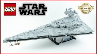 LEGO Star Wars 75252 Imperial Star Destroyer - Speed Build - Unboxing