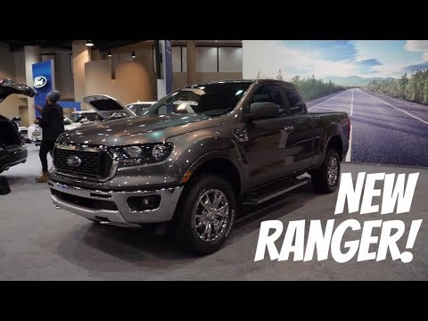 2019 Ford Ranger XLT SuperCab Walkaround