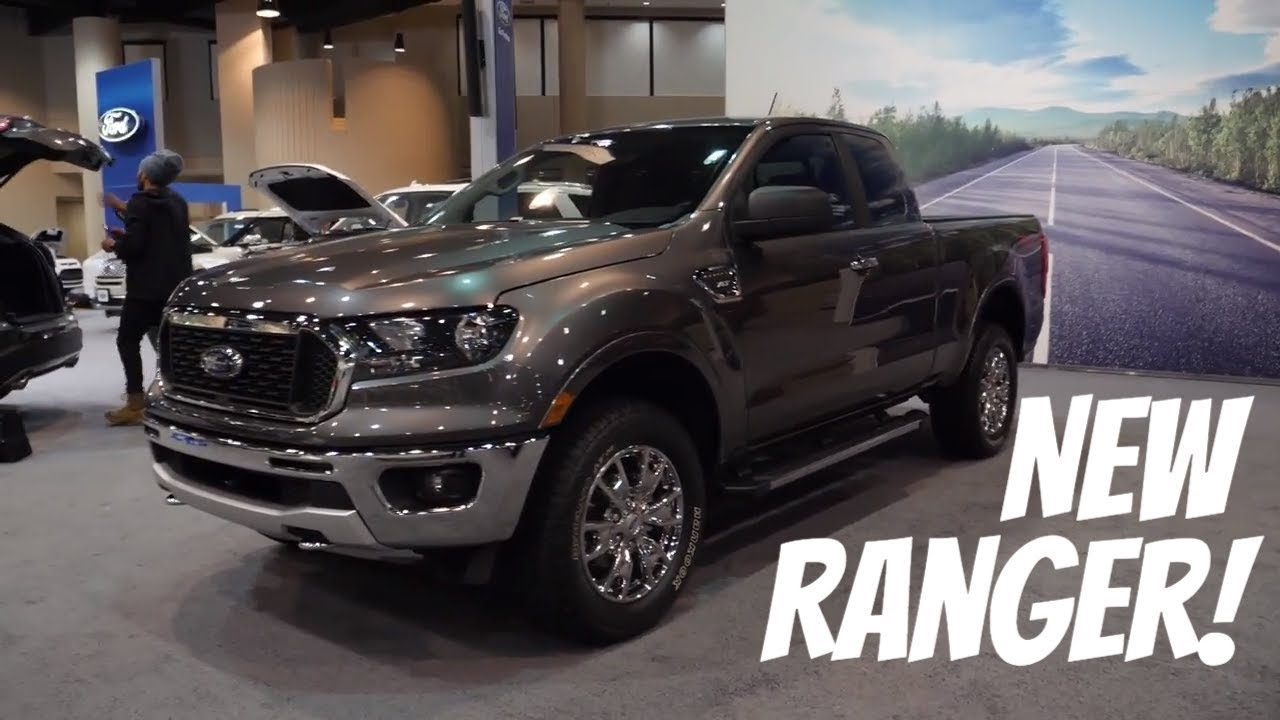 2018 Ford F150 Interior >> 2019 Ford Ranger XLT SuperCab Walkaround - YouTube