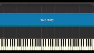 Love Story Richard Clayderman Piano Tutorial