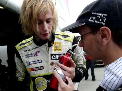 Interjú Brendon Hartleyval 2011, Július 3. WSR Hungaroring (Interview with Brendon Hartley)