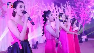 ពិធី ពិសារអាហារនិង រាំលេង, khmer weddding comedy Full HD , Cambodia Wedding song # 11 - 16 - 2018