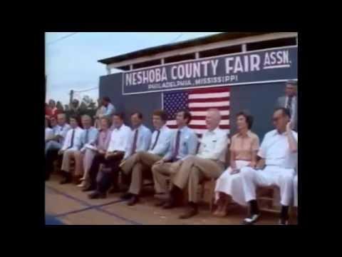 """Reagan's Neshoba County Fair """"states' rights speech"""