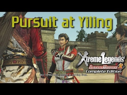 Dynasty Warriors 8 Xtreme Legends | Pursuit at Yiling (Wu Xtreme Legend Stages Ep.6)