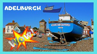 ENGLAND, the beautiful fishing boats of ALDEBURGH