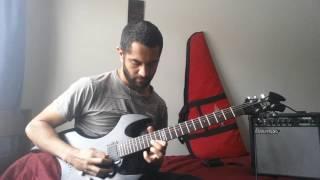 guitarra ltd ax 50 pickups emg 81 85 zakk wylde