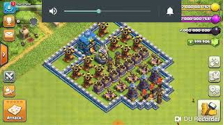 COC air defence vs all air troops
