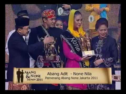 Pengumuman Pemenang Abang & None Jakarta 2011