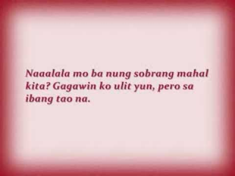 Tagalog Love Quotes :(