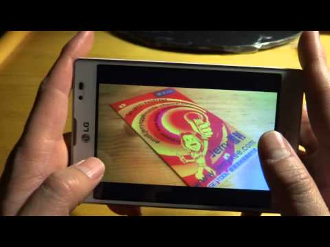 LG Optimus VU 2 F200S Android 4.1.2 test 3