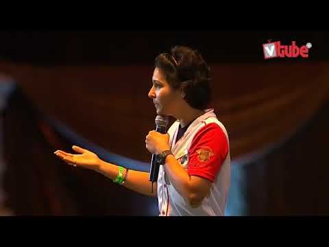 VC Raasikaa Subal sharing her journey on VCON stage | QNET | Network Marketing
