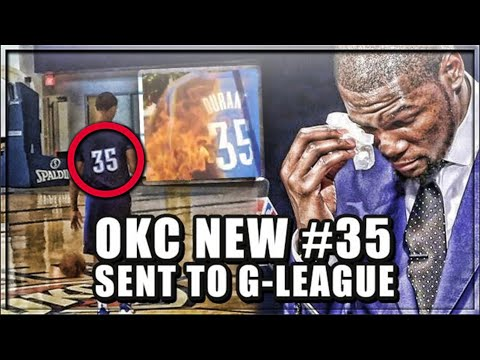 Why OKC Gave KD's Old #35 JERSEY To A G-LEAGUE Player! | Thunder DISRESPECTING Kevin Durant!