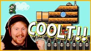COOLA Luftskepp! - Super Mario Maker 2 på Svenska