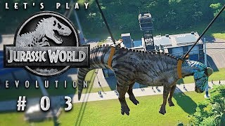 Jurassic World Evolution Dino-Ausbruch Jurassic World Evolution Deutsch German Gameplay #003