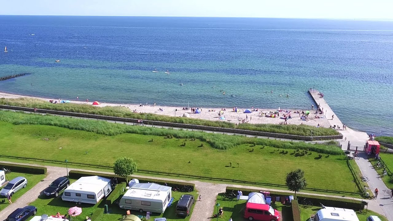 Camping Campingplatz Ostsee Strand Camping An Der Ostsee Insel Camp Fehmarn Imagefilm