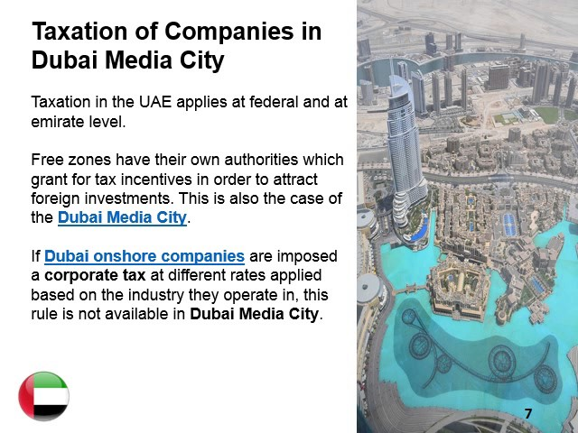 Dubai Media City Free Zone