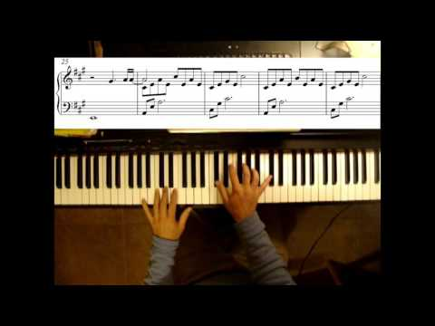 My Immortal | Evanescence | Piano cover for beginners by Pablo Keilis | Sheet music