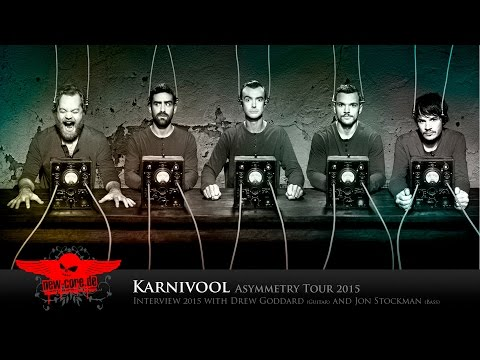 Karnivool Interview 03/2015 Jon Stockman (Bass) & Drew Goddard (Guitar)