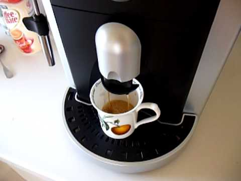 Saeco Espresso Italiano Super Automatic Espresso Machine - YouTube