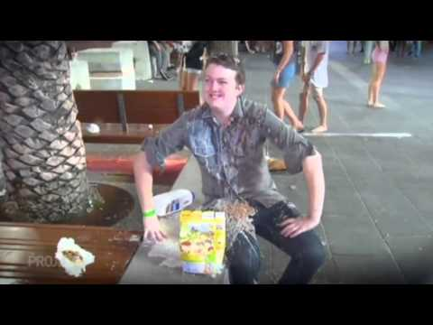 Cereal Schoolies The Project Gold Coast 2014