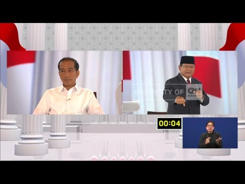 Saksikan Debat Terakhir Pilpres 2019 Di CNN Indonesia - 13 April 2019