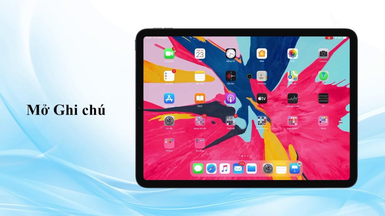 Cách khoá Ghi chú trên iPhone và iPad