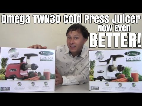 Omega TWN30S Cold Press Twin Gear Juicer Now Even Better