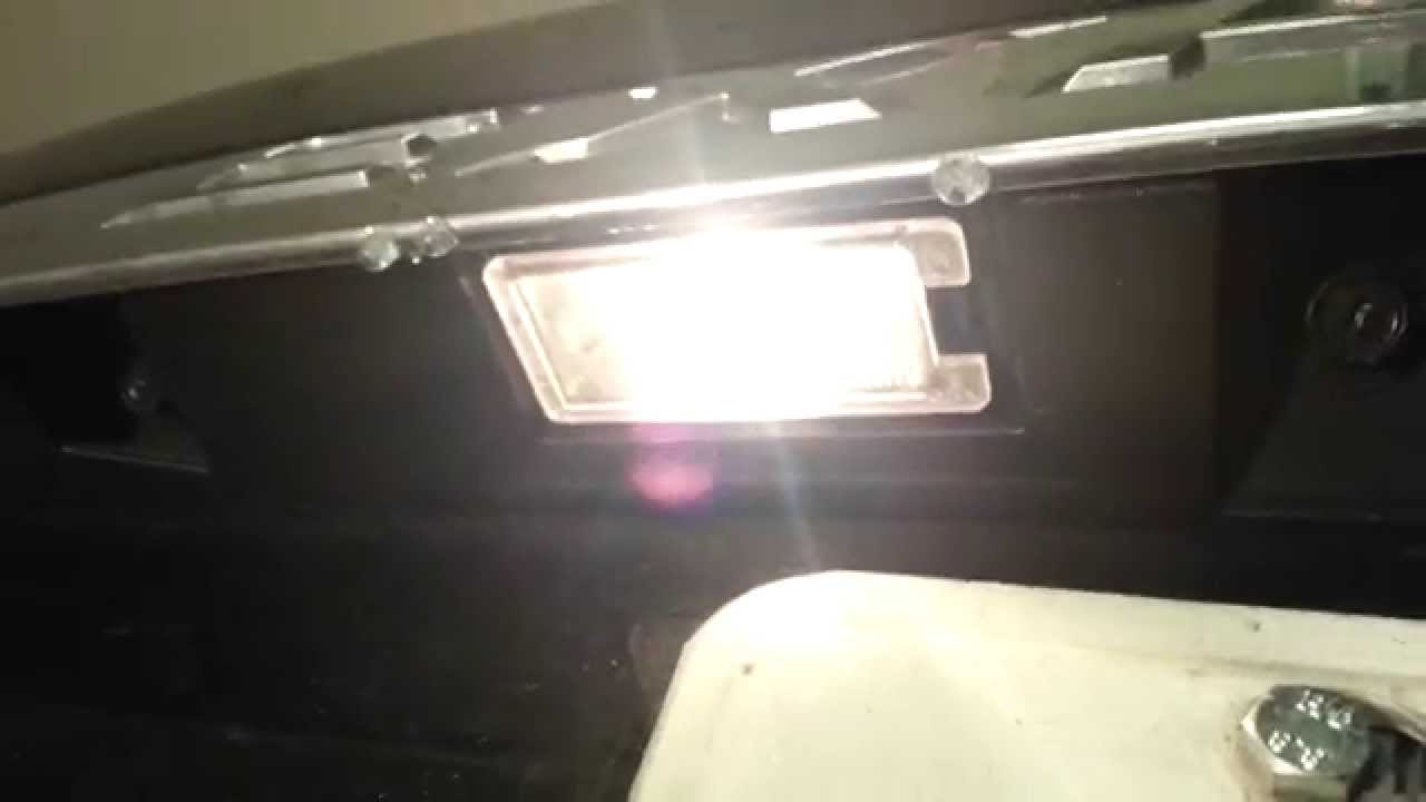 2014 Ford Explorer SUV - Testing License Plate Lights After Changing Bulbs - YouTube