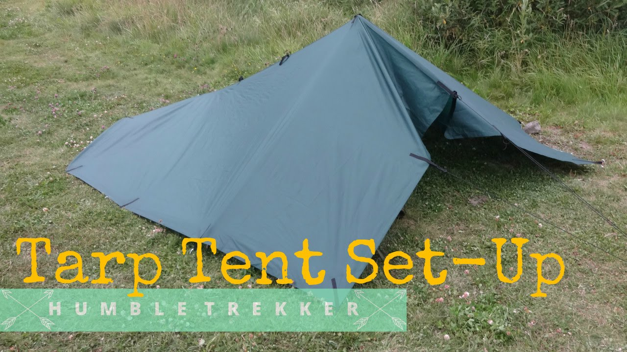 YouTube Premium & How to set up a Tarp Shelter | SIMPLEST and FASTEST! - YouTube