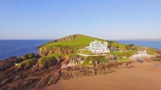Burgh Island Hotel - Aerial Drone Film