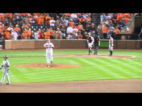 Baltimore Orioles vs. Detroit Tigers ALDS Game 1 2014: FINAL OUT