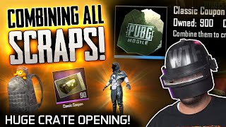 I FINALLY COMBINED ALL OF MY SCRAPS - HUGE CRATE OPENING!