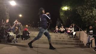 Les Twins | Laurent outside the Palace | Give him his hat back | Shot by Sandy Lee with an iphone