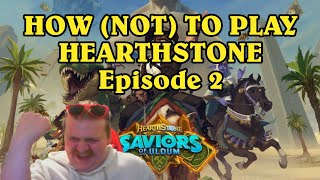 How to Play Hearthstone (Not) #2 Saviors of Uldum Quest Paladin Gameplay  [Hearthstone]