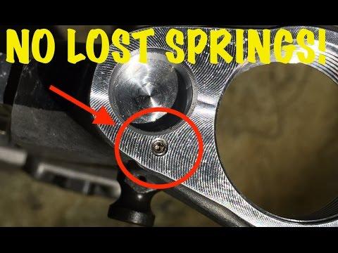 AR-15 CA Legal Mod/FIX! - Takedown pin spring keeper
