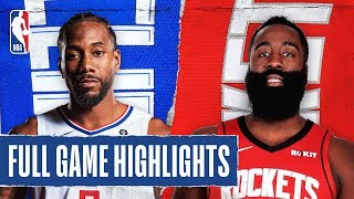 CLIPPERS at ROCKETS | FULL GAME HIGHLIGHTS | November 13, 2019