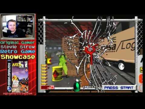 Area 51 - 1995 - Sega Saturn with light gun - live stream!