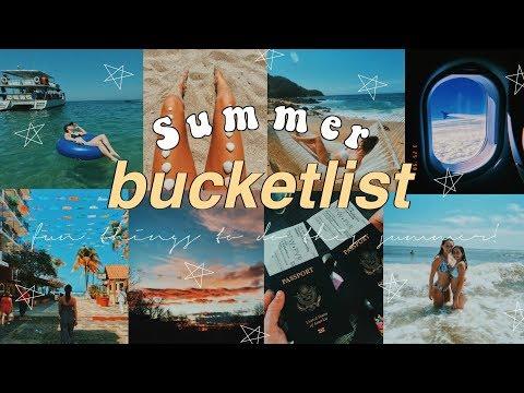 50 TEEN SUMMER BUCKETLIST IDEAS 2018 | Hannah Teal