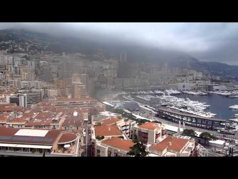 Monaco - view from the Prince's castle area (near the old city) - 4/6/2013 Sveta & Ilan