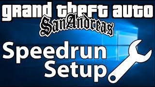tutorial San Andreas: Speedrun / LiveSplit Setup