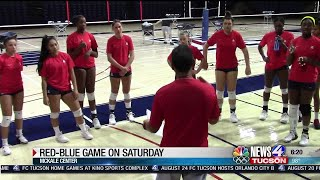 UA Volleyball Red-Blue game on Saturday is Free To Public