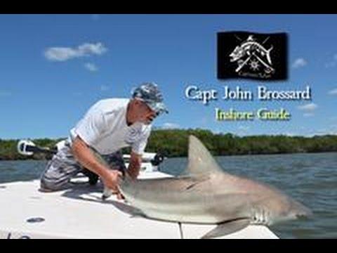 Captain's Tales with Captain John Brossard  - Shark Fishing!